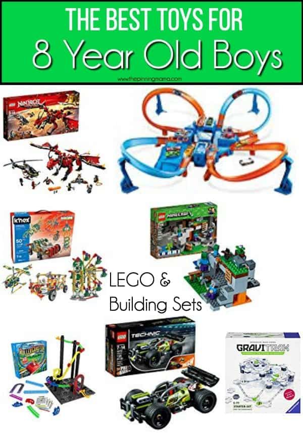 The BEST LEGO and Building Set Ideas for 8 year old boys.