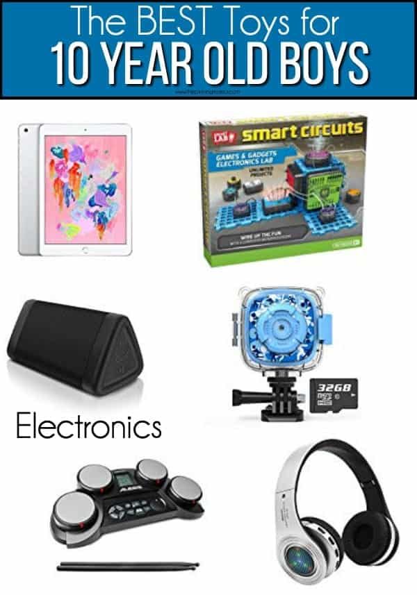The BEST Electronics for 10 year old boys.