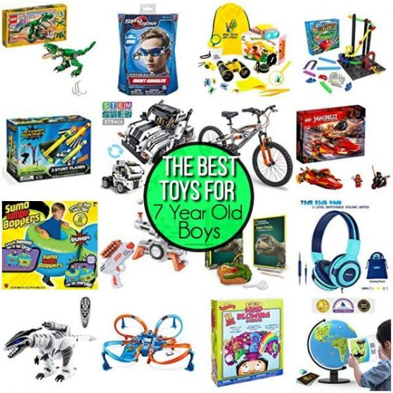 The BEST Toys for 7 year old boys.