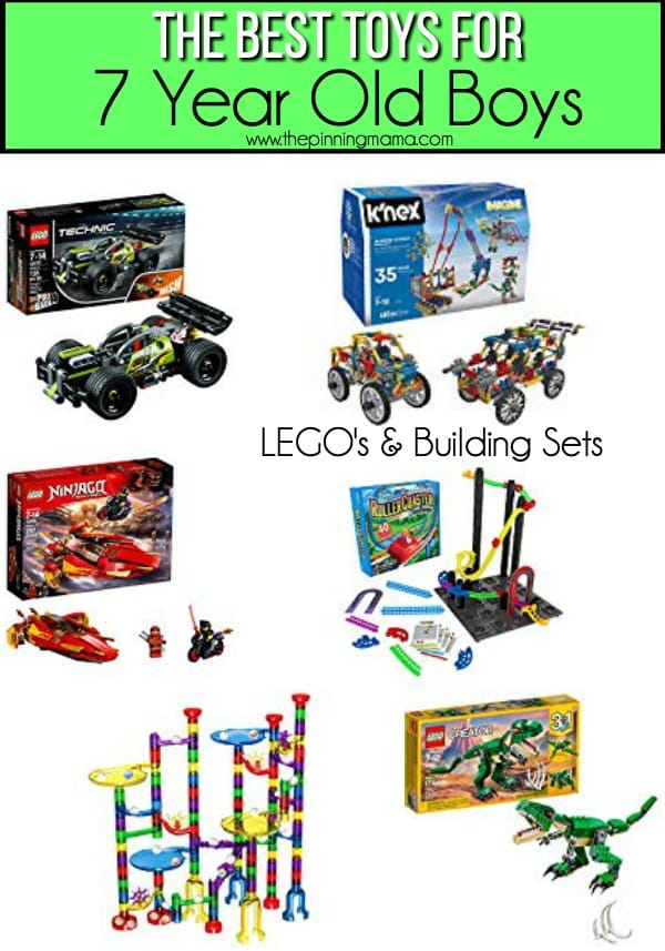 The BEST Lego Set for 7 year old boys.