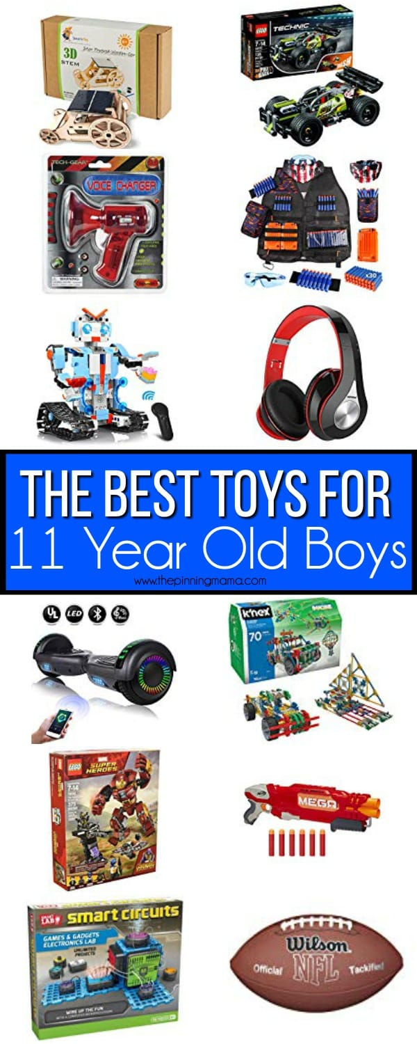 The BEST Toys for 11 year old boys.