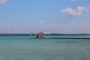 The Pin Project Mexico Lago Bacalar