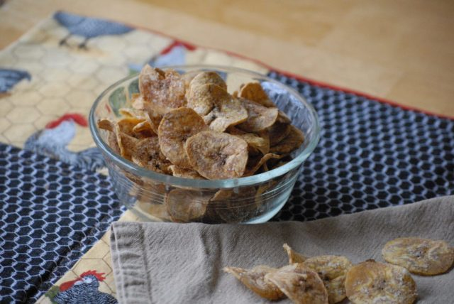 Plantain Chips: learn the secret to making the best plantain chips and you will never buy potato chips again!
