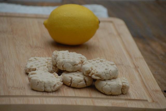 Zesty lemon grain-free cookies