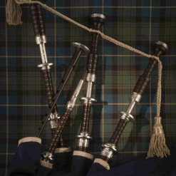 Duncan Macrae bagpipes SL4/FN by Stuart Liddell at The Pipe Band Store