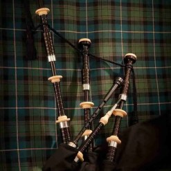 Duncan Macrae Bagpipes by Stuart Liddell SL2 made by McCallum Bagpipes