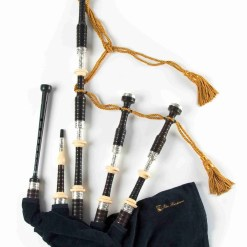 Peter Henderson Silver Bagpipes PH05H