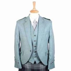 Love Blue Kilt Jacket and Waistcoat