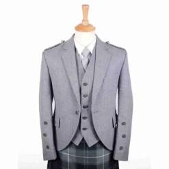 Light Arrochar Kilt Jacket and Waistcoat