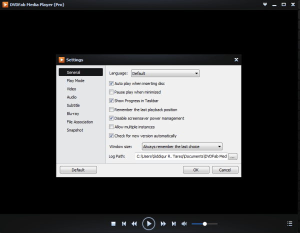 DVDFab Media Player Pro serial number