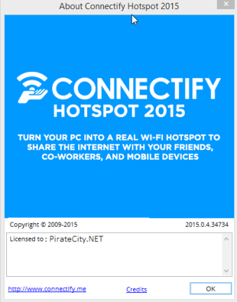 Connectify Hotspot license code for activation