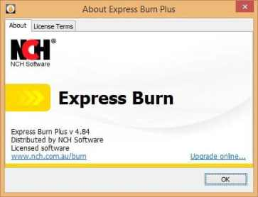 NCH Express Burn Plus license code