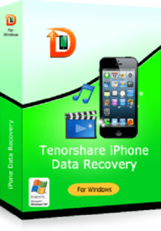 Tenorshare iPhone Data Recovery + Serial Key free download