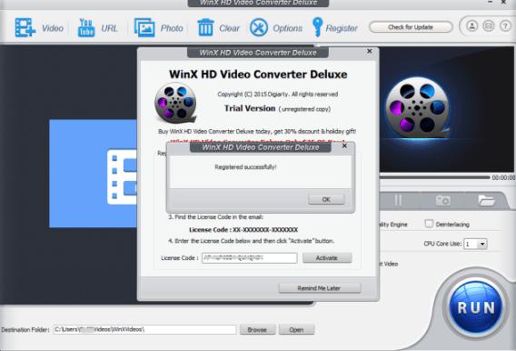 WinX HD Video Converter Deluxe full crack