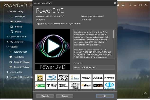 CyberLink PowerDVD Ultra key generator download