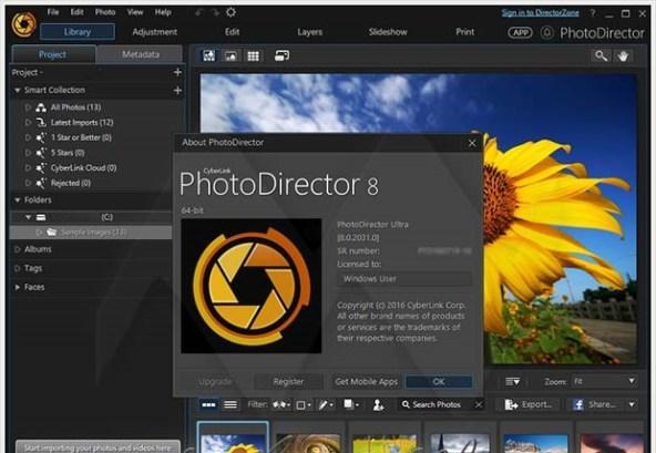 CyberLink PhotoDirector crack download