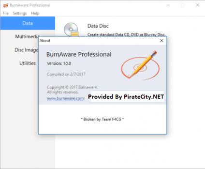 BurnAware PRO Crack Download