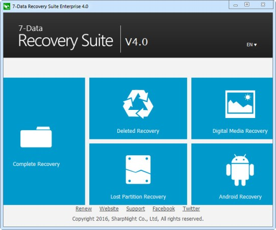 7 Data Recovery 4.1 crack