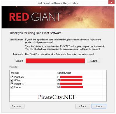 Red Giant Shooter Suite keygen torrent