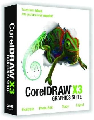 Download CorelDRAW X3
