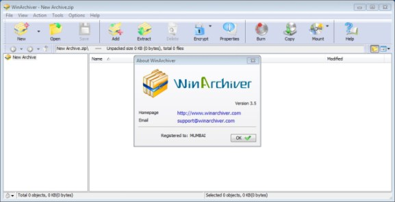 WinArchiver crack & serial number for license activation