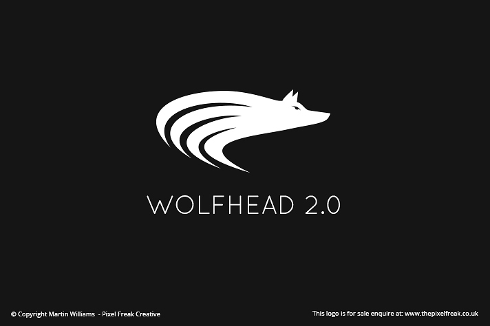 Wolf Head Emblem For Sale