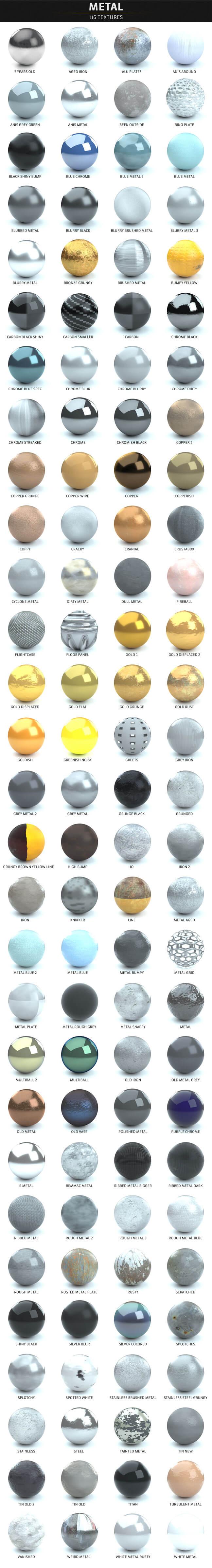 C4D-Otoy-Octane-Render-Material-Textures-Pack-Metal