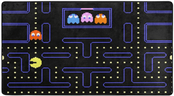 Pacman Rug