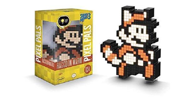 Pixel Pals Nintendo Super Mario Bros 3 Raccoon Mario