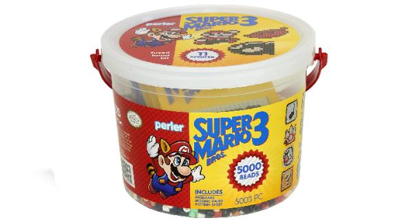 Super Mario Brothers Bead Bucket Activity Kit