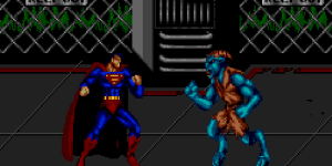 The Death and Return of Superman - Sega Genesis Beat 'Em Up Games