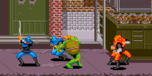 Turtles In Time - SNES Game