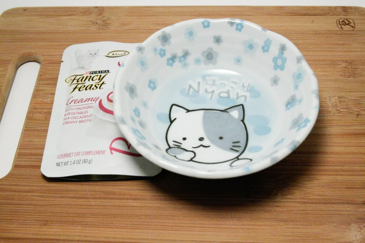 Fancy Feast Broths Cat Bowl