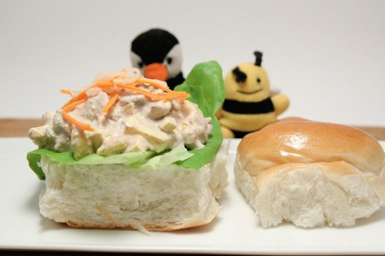 Balut Egg Salad Sandwich