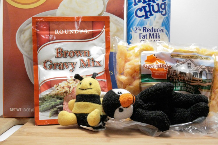 Poutine Microwave Cake Ingredients