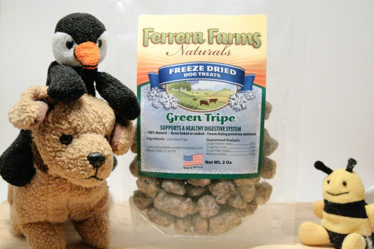 Dog Treats Green Tripe