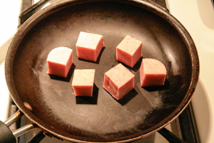 Wedding Banquet Spam Cubes