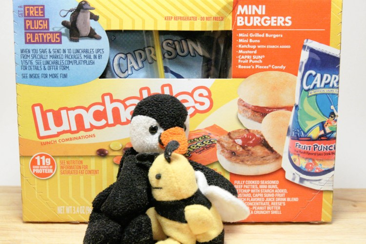 Lunchables Burger Box