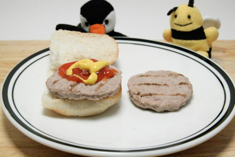 Lunchables Burger