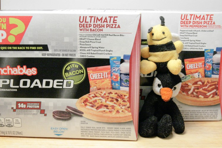 Lunchables Pizza Boxes