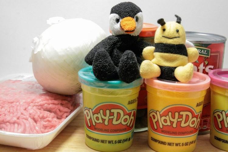 Play Doh Empanadas Ingredients