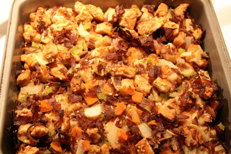 Arby's Stuffing Pan Finished