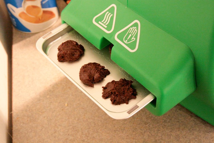 Girl Scout Oven Thin Mint Batter Tray Insert
