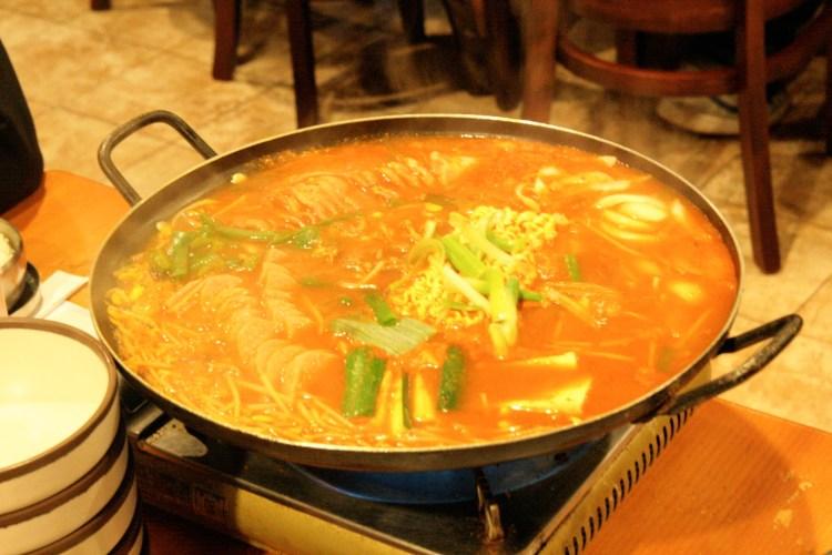 Korean BBQ Budae Jjigae