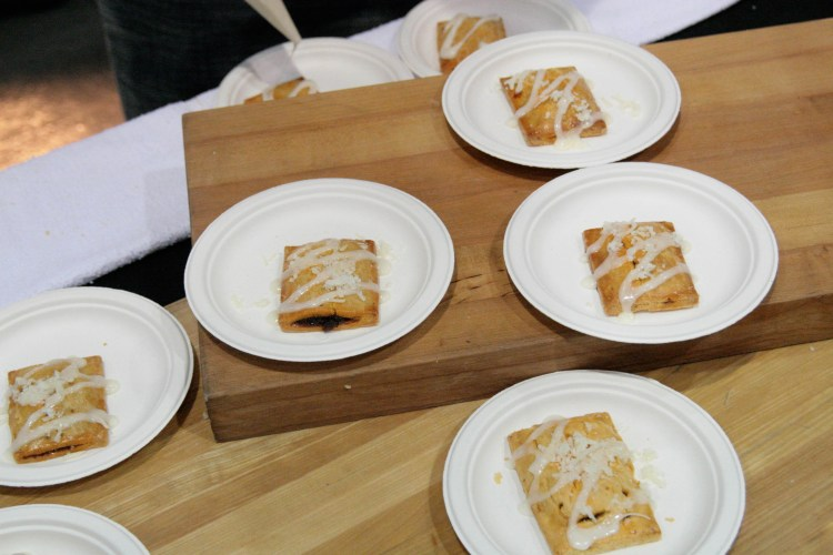 Baconfest Judge Pork Tarts