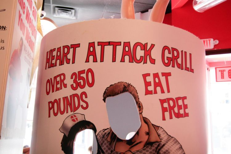 Heart Attack Eat Free