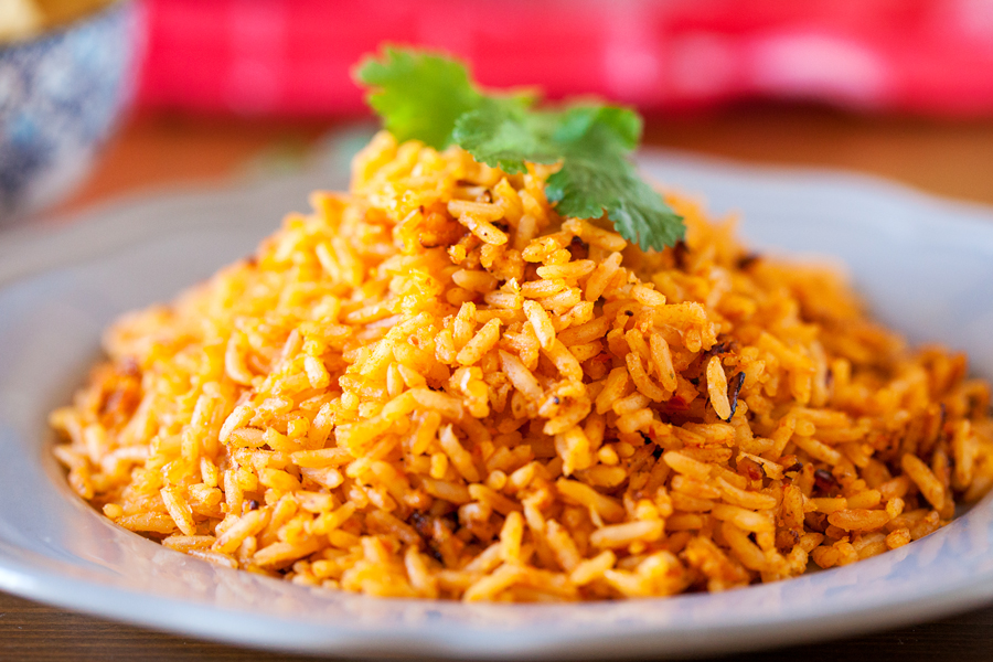 authentic restaurant style mexican rice ready in 25 minutes or 7 minutes when using