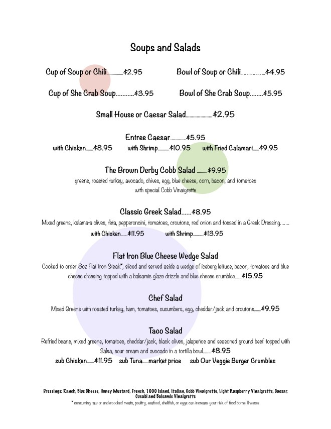 Soups and Salad - pg 2