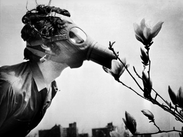 If you want to live in Miyakejima, Japan you must carry a gas mask at all  times (Photos)