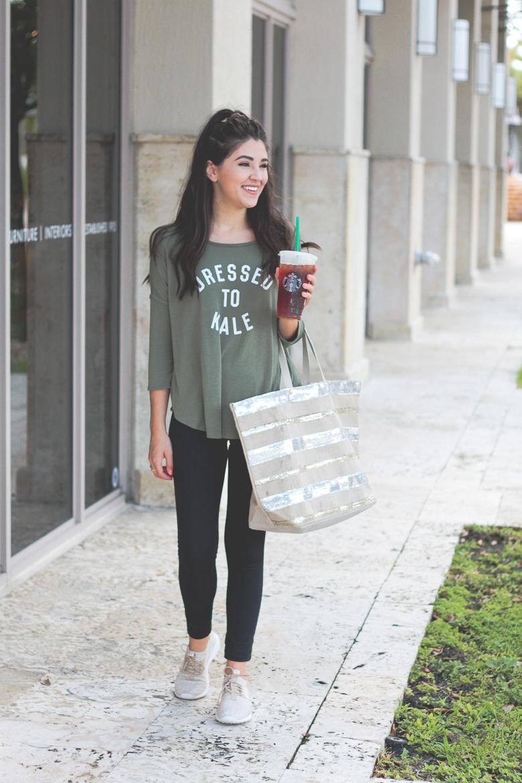 Savannah Jayne of The Plain Jayne shares the perfect look for running errands.